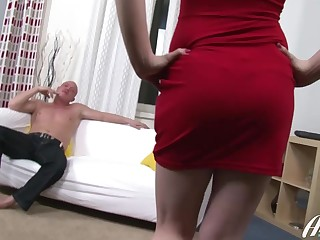 Super-Naughty Russian honey getting her a-hole romped deep