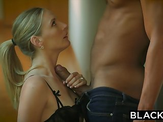 BLACKED Naughty Wife Cuckolds Hubby With Coed Black Neighbor - ANALDIN