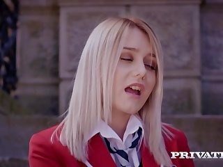 Darcia Lee is a adorable, dark-haired college girl whose desire is to screw 1 of her educators