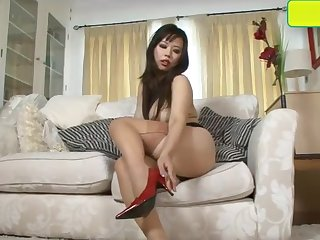 Exotic nylon foot fetish erotica with rare vintage picture frame nylons
