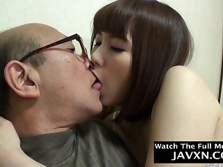 Exciting Japanese Teen Fucks With Old Geezer
