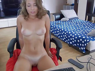busty girl next door with big naturals on webcam solo