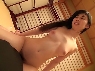 Horny Japanese wife Iroha Seino waits for her husband to come home
