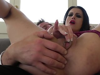 MILF gets roughly butt fucked and made to swallow a lot