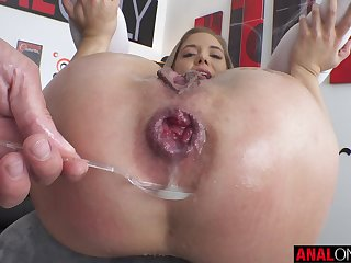 Lana Anal lives up to her name