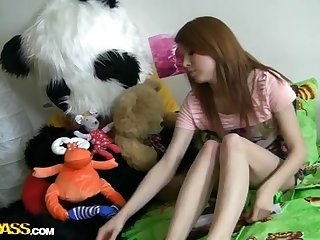 Adorable girlie has craxy lovemaking with fuck stick