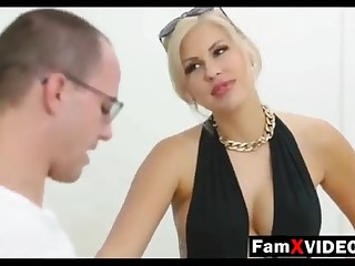 Wettish mommy pummels son-in-law and trains daughter-in-law - Total Free Mother Hump Movies to hand FamXvideos.com