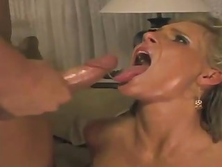 Phoenix Marie is fellating lollipops and getting new jizz 'round over her face, long run