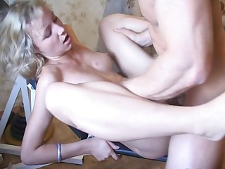 Natural tits blonde doggystyle ravished roughly yelling