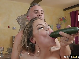 Karmen Karma is ready for everything when she wants to cum badly
